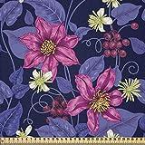 ABAKUHAUS Blumen Stoff als Meterware, Tropicana Orchideen
