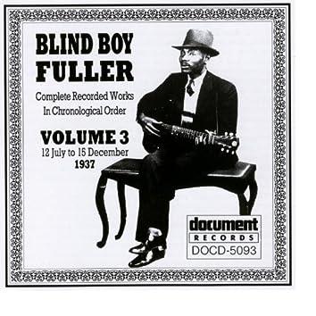 Blind Boy Fuller Vol. 3 1937