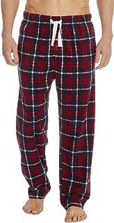 Cargo Bay Mens Checked Fleece Lounge Pants Pyjama Trousers