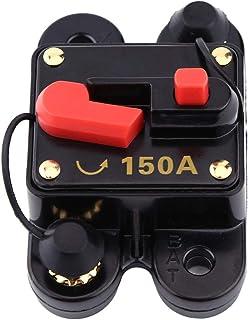 Yosoo Health Gear 1 st Dc12 v cirkelbryg, manuell återställning cirkulär breaker för cirkeln av bilstereo eller stor bil e...