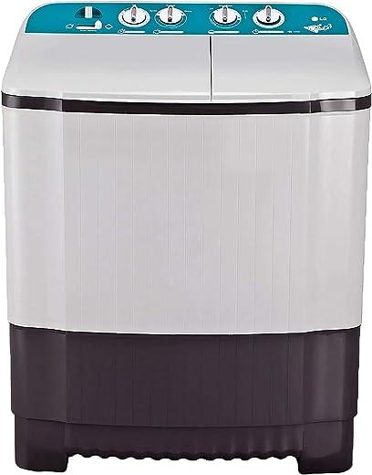 LG 6 Kg Semi-Automatic Top Loading Washing Machine (P6001RG, Dark Grey, Roller Jet Pulsator)