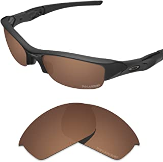 Performance Lenses Compatible with Oakley Flak Jacket Polarized Etched