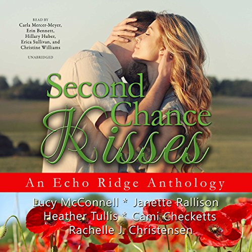 Second Chance Kisses     Echo Ridge Romance Anthology, Volume 4              By:                                                                                                                                 Lucy McConnell,                                                                                        Janette Rallison,                                                                                        Heather Tullis,                   and others                          Narrated by:                                                                                                                                 Carla Mercer-Meyer,                                                                                        Erin Bennett,                                                                                        Hillary Huber,                   and others                 Length: 17 hrs and 53 mins     3 ratings     Overall 4.3