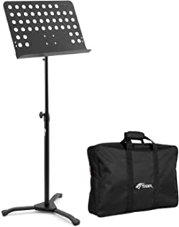 Tiger Professional Orchestral Sheet Music Stand with Bag