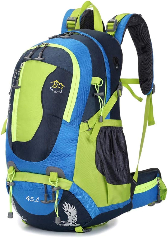 QWKZH Rucksäcke Bergsteigenbeutel mit Rucksack Outdoorrucksack Outdoorrucksack Outdoorrucksack Profi Wandern 45L B07QDDWQ6F  Billiger als der Preis 243496
