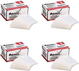 Universal Clear Laminating Pouches, 5 mil, 2-3/16 x 3-11/16, Business Card Size, 100, 4 Packs