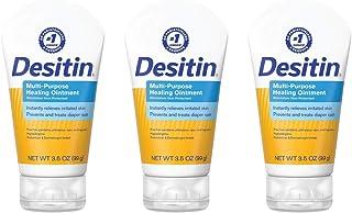 Sponsored Ad - Desitin Multipurpose Baby Diaper Rash Ointment with White Petrolatum Skin Protectant, 3.5 oz (Pack of 3)
