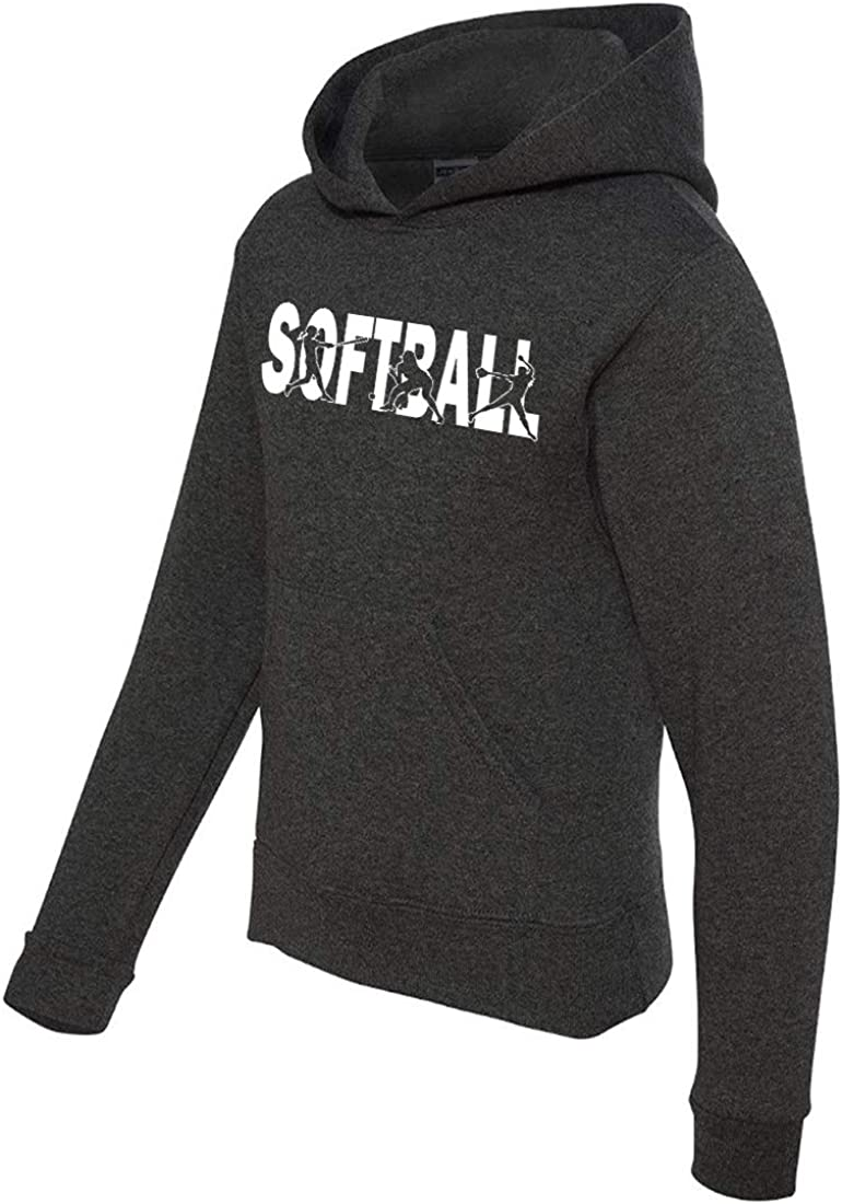 Softball Sweatshirt for Year-end annual account Athletic Teen New product type Girls
