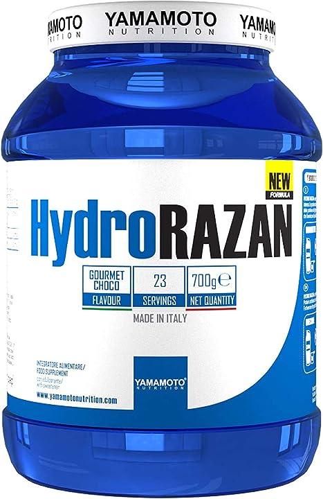 Proteine del siero del latte idrolizzate yamamoto - hydro razan® new formula 700 grammi cioccolato 4926266001796