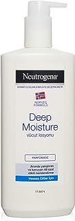 Neutrogena Deep Moisture Parfümsüz Vücut Losyonu, 400 ml