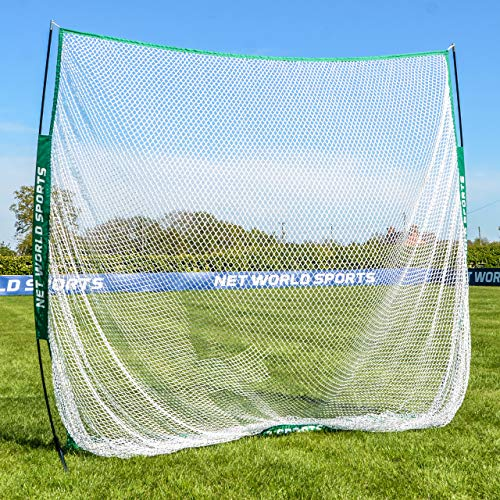 FORB Portable Golf Net [7ft x 7ft] - Golf Practice Net For Garden | Golf Training Aids - Driving Practice | Easy Assembly - Pop Up Design | Carry Bag Included