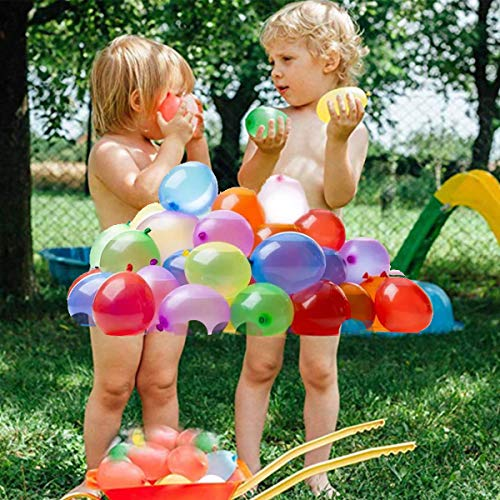 Self Sealing Water Balloons For Kids Boys & Girls Adults Party Easy Quick Summer Splash Fun Outdoor Backyard with 330 Balloons for Water Bomb Fight Games Swimming Pool Outdoor Summer Fun
