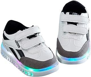 Yangguang Boys Double Velcro LED in White Colour