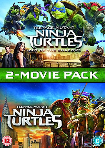 Teenage Mutant Ninja Turtles / Teenage Mutant Ninja Turtles: Out Of The Shadows Box Set [DVD] [2017]