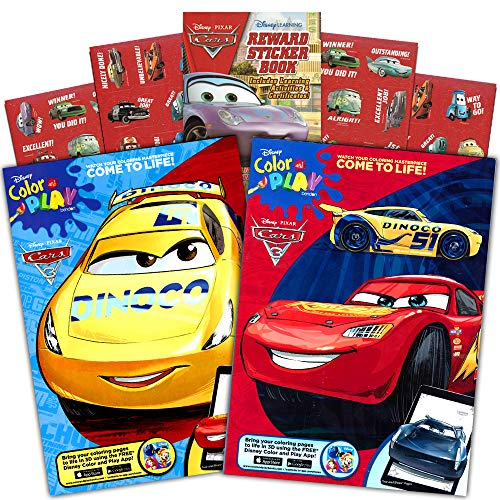 Disney Cars Coloring Book Set 2 Books Featuring Lightning Mcqueen 96 Pages Int Ed Buy Online In Cambodia At Cambodia Desertcart Com Productid 20216931