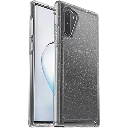 OtterBox Symmetry Clear Series Case for Galaxy Note10 - Stardust (Silver Flake/Clear)