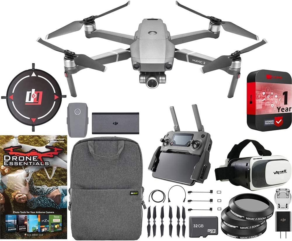 DJI Mavic 2 Zoom Quadcopter Drone Optical L Superior with 24-48mm Selling 2X