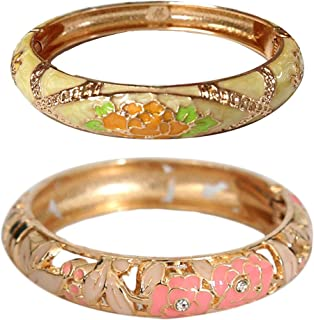 Best yellow and pink bangles set Reviews