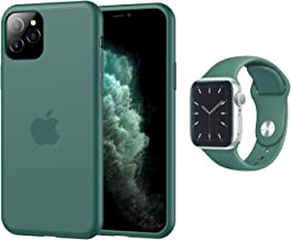 Aminery Sport Band/Replacement Strap [Apple Watch 44mm 42mm ] with iPhone Case Protective Cover2019