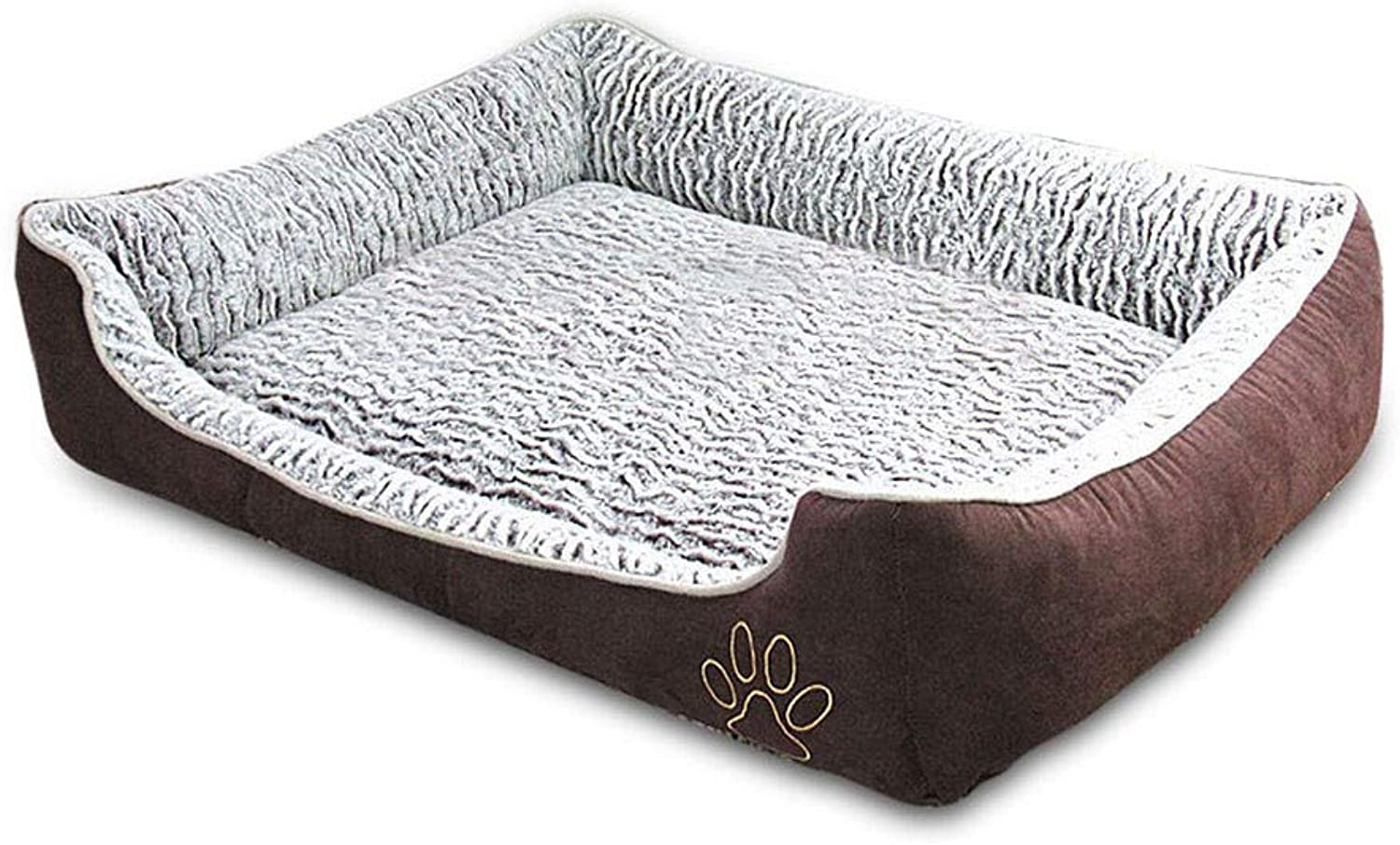 Deluxe Orthopaedic Dog Bed Cushion Pet Warm Basket Removable Zipped Cover Washable Waterproof For Large Medium Small Dogs Puppies In Summer Cold Winter