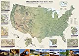 U. S. National Parks Wall Map