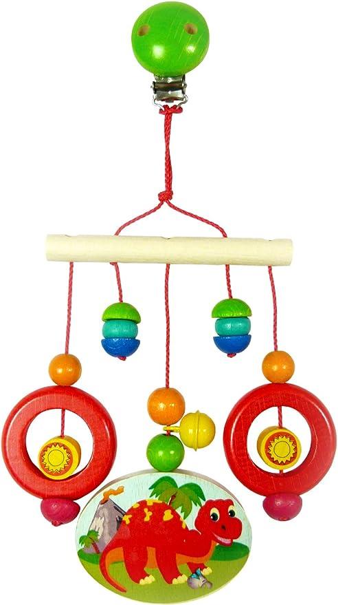 1200 g 33 x 24,5 x 17,5 cm mehrfarbig Lama Hess Holzspielzeug 10128469 Fu/ßbank aus Holz f/ür Kinder ca