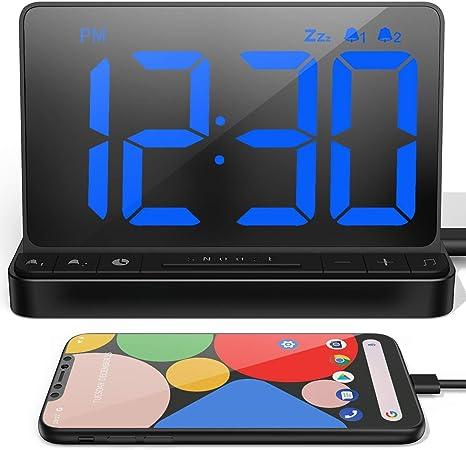 NOKLEAD Reloj Despertador Digital - Reloj Digital Sobremesa