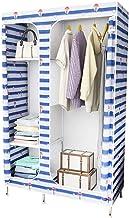 HN Wardrobe, Cloth Wardrobe Assembly Cloth Wardrobe Simple Wardrobe Assembly Storage Cabinet Single Wardrobe (Size : 105x4...