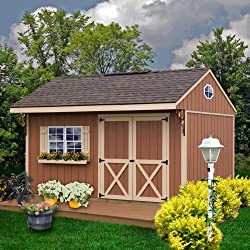 Best Barns Northwood 14' x 10' Wood Shed Kit - Best She Shed Kits