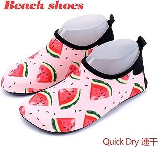 LMRYJQ Wading Chaussures Couple D/éT/é Mode Plage De Yoga Pataugeoires Plong/é Baskets De Natation /ÉT/é Chaussure
