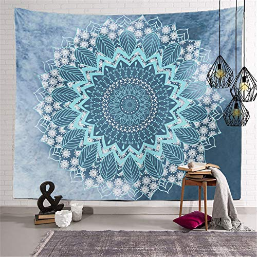 DHHY Polyester 3D Printed Tapestries, Mandala Series Digital Printed Tapestries, Household Decorative Tapestries, Beach Towels