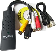 Grabber USB 2.0 Easyday pouraudio/video – Compatible avec Windows 10/7/8 –..