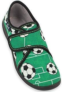 Beck 男孩足球低帮拖鞋
