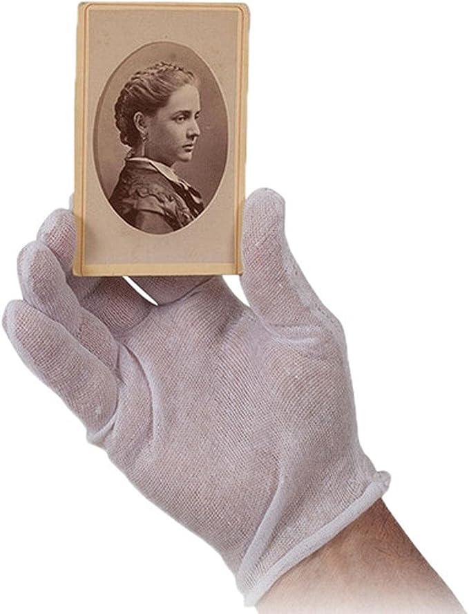 Archival White Inspection Gloves