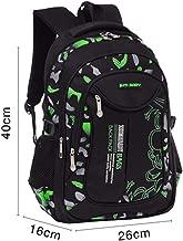 2 Size Waterproof Children School Bags For Boys Orthopedic Kids Primary School Backpacks S Green
