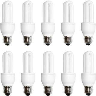 10 x näve Energiesparlampe Röhre 9W E27 extra kaltweiß 6500K Tageslicht