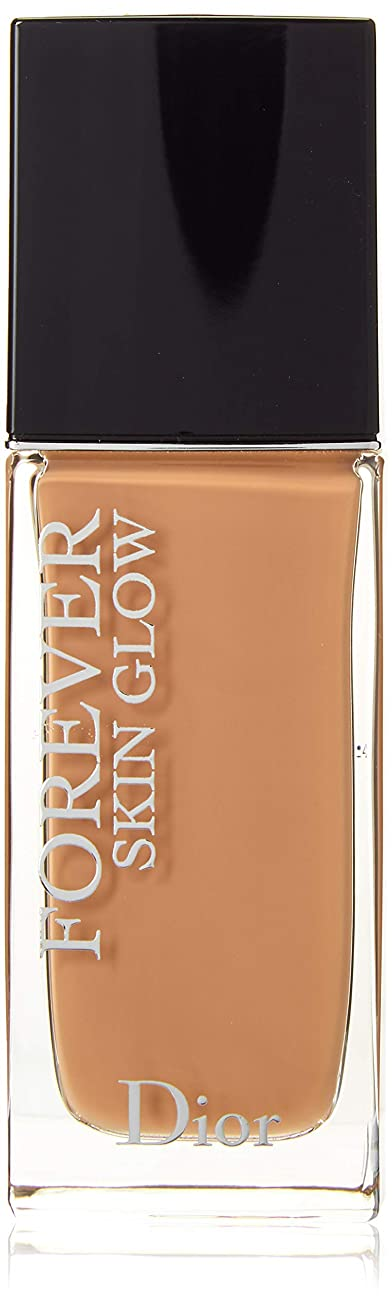 有毒な心配医療のクリスチャンディオール Dior Forever Skin Glow 24H Wear High Perfection Foundation SPF 35 - # 4WP (Warm Peach) 30ml/1oz並行輸入品