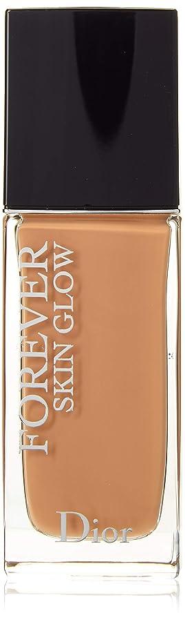 レクリエーション紳士モナリザクリスチャンディオール Dior Forever Skin Glow 24H Wear High Perfection Foundation SPF 35 - # 4WP (Warm Peach) 30ml/1oz並行輸入品
