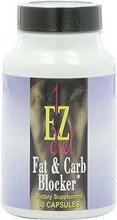 Maximum Intenational 1-EZ Diet, Fat and Carb Blocker, 60 Capsules