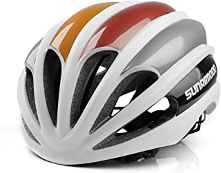 SUNRIMOON Road Bike Helmet for Men/Women, Bicycle Helmets with CPSC Certified Lightweight 15 Large Air Vents Mountain & Road Adjustable Adult Cycling Helmets