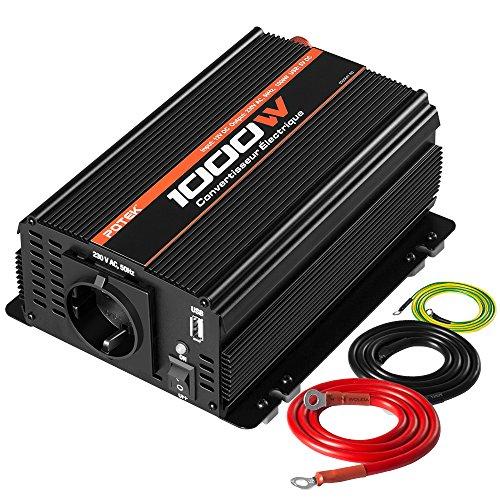 POTEK 1000W Convertisseur/Transformateur de...