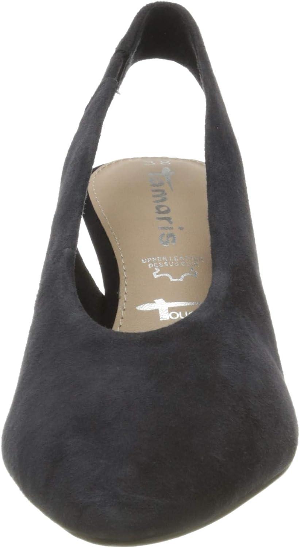 Tamaris 1-1-29502-24 Slingback Pumps voor dames Blauw Navy 805