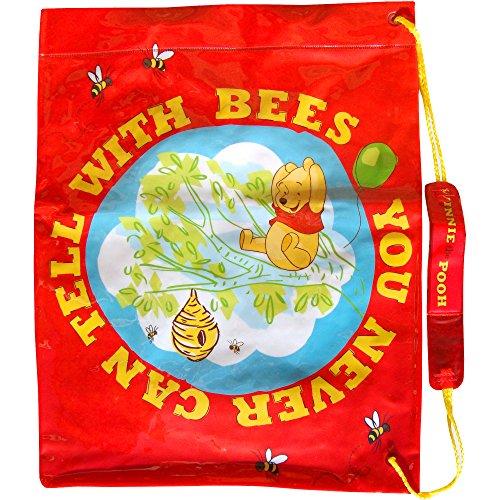 Disney garçons Rouge Winnie the Pooh bouton-pression école Sports Gym & Swim Sac à bandoulière
