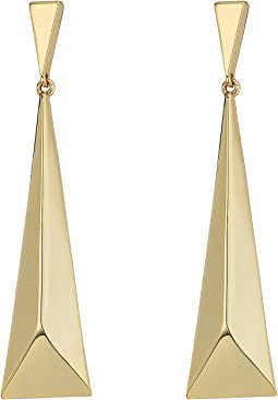 LAUREN Ralph Lauren - Minimal Metal Geometric Drop Earrings