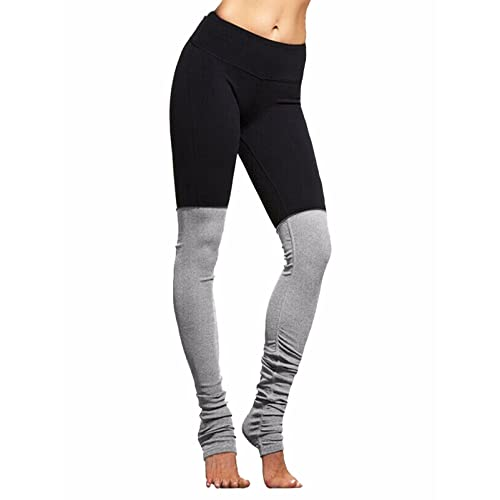 e85294ad594c Fittoo Yoga Pants Goddess Legging Double Candy Color Block Stretch Tight  Sport Active Yoga Leggings
