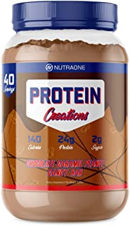 Protein Creations Protein Powder Blend by NutraOne – Indulgently Flavored and Amino Acid Free Protein Powder (Chocolate Ca...