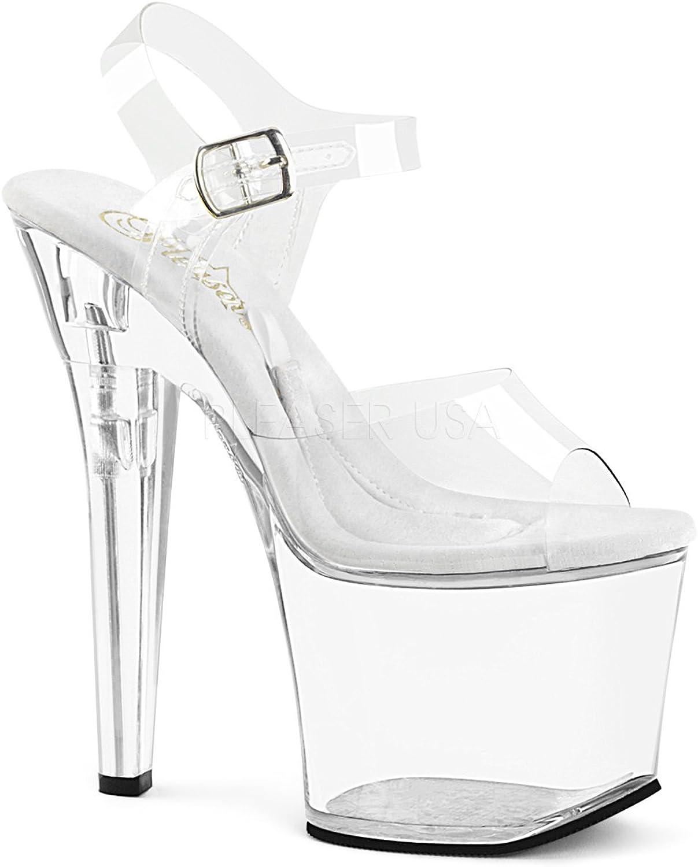 Pleaser Womens TREASURE-708RAD C M Sandals