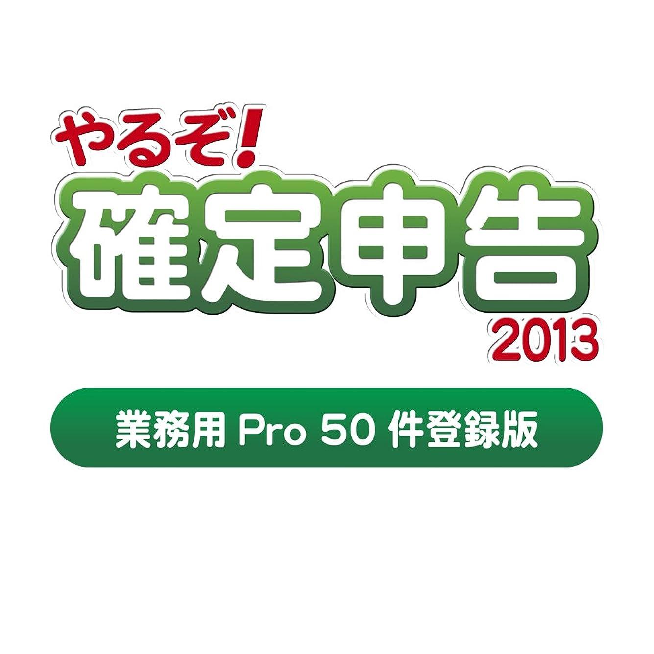 二度周囲前提やるぞ! 確定申告2013 業務用Pro 50件登録版 for Win&Mac(2014年版への無償バージョンアップシール付)