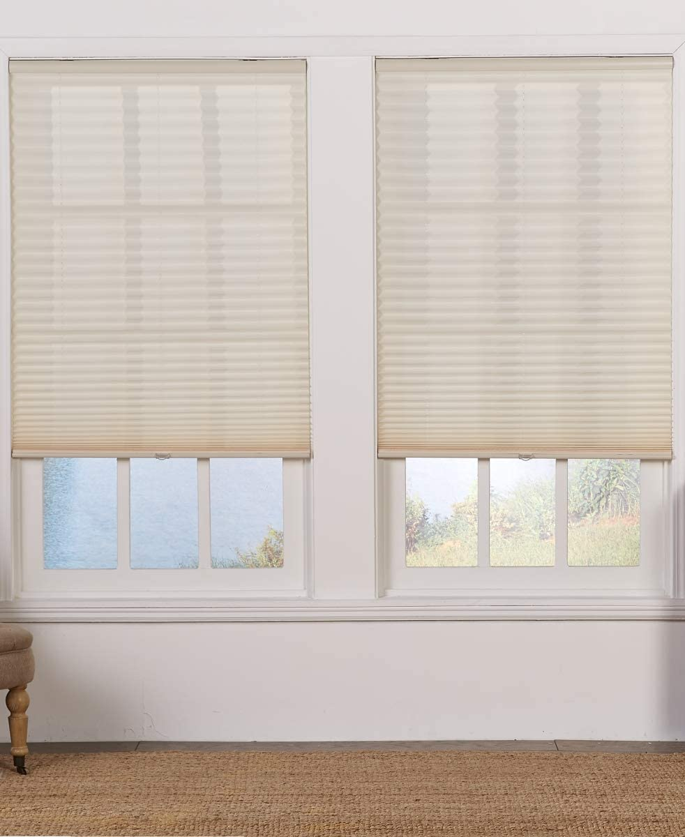 Safe Styles Max 59% OFF UBD60X48ER Cordless Filtering Superior Pleated Light Shade44;