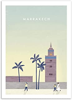 WALL EDITIONS Art-Poster - Marrakech - Katinka Reinke - Format : 50 x 70 cm